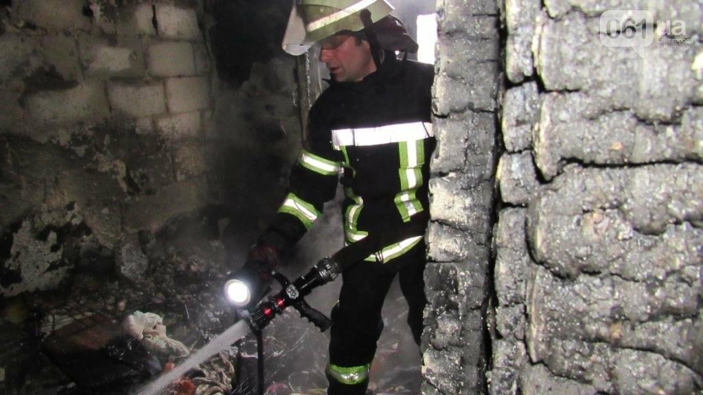 В Запорожье горело общежитие: в одной из комнат находились дети, - ФОТО , фото-4