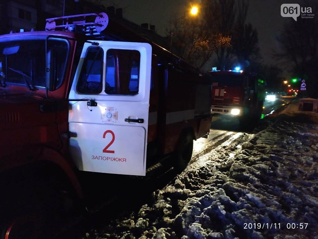 В Запорожье снова горело общежитие - эвакуировали двоих людей, фото-1