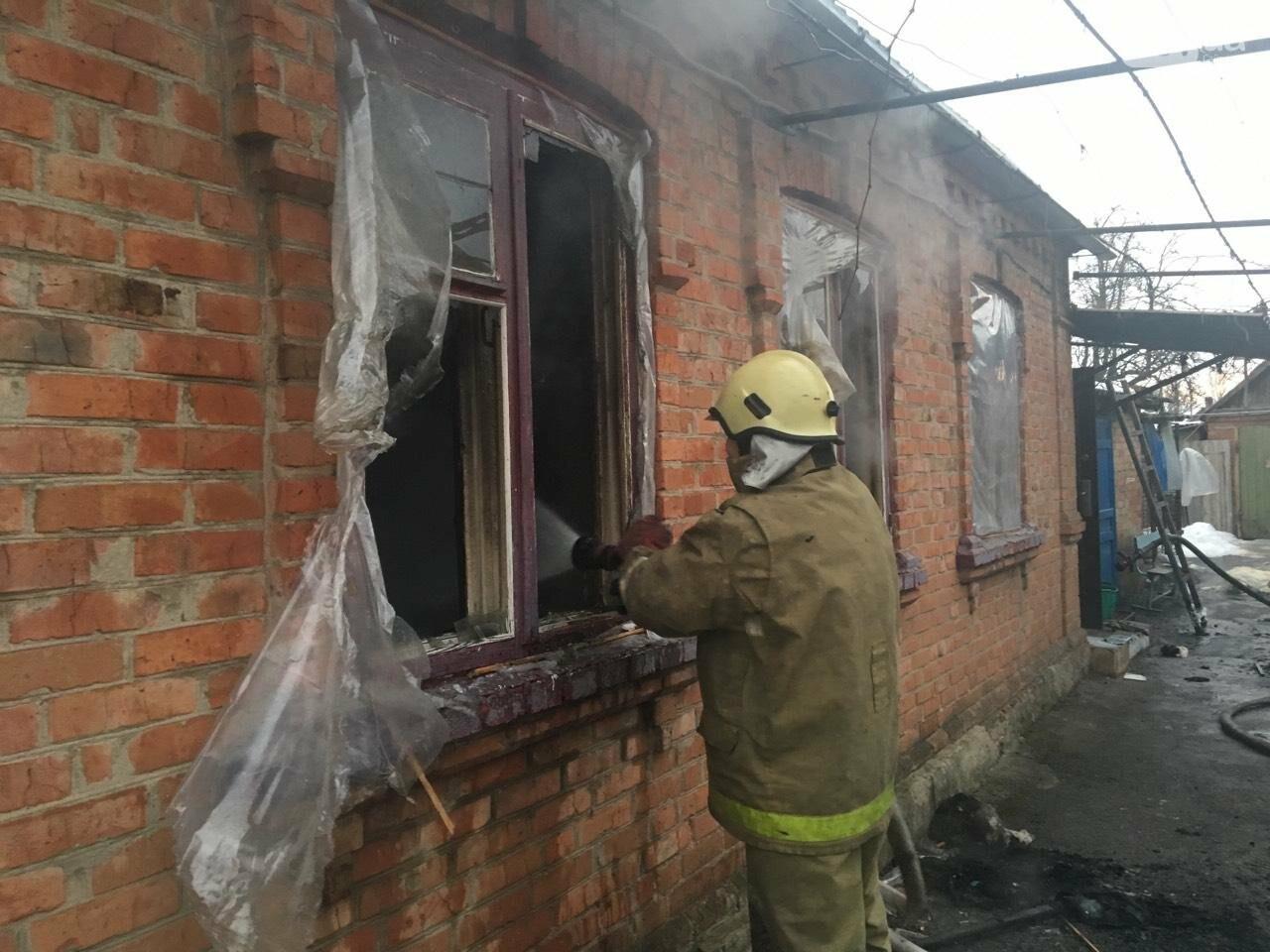 В Орехове частный дом загорелся в отсутствие хозяина, - ФОТО, фото-1