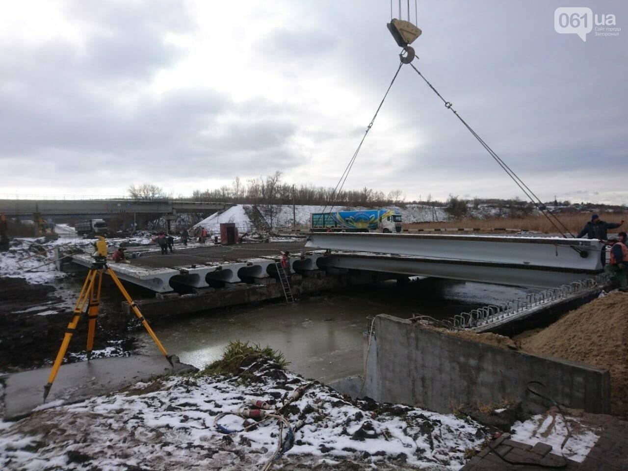 Реконструкция моста под Степногорском: строительно-монтажные работы завершены, - ФОТО , фото-2