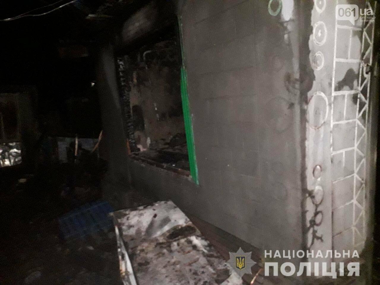 Трагедия под Запорожьем. При пожаре погибли двое детей: их мать повесилась, пока тушили огонь, фото-1