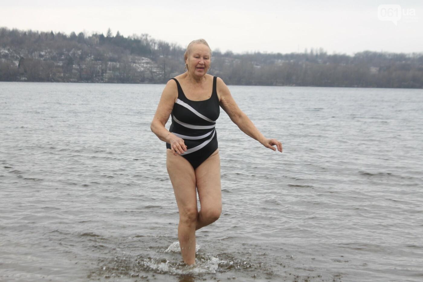 Как в Запорожье массово отметили Крещение на Центральном пляже, – ФОТОРЕПОРТАЖ, фото-40