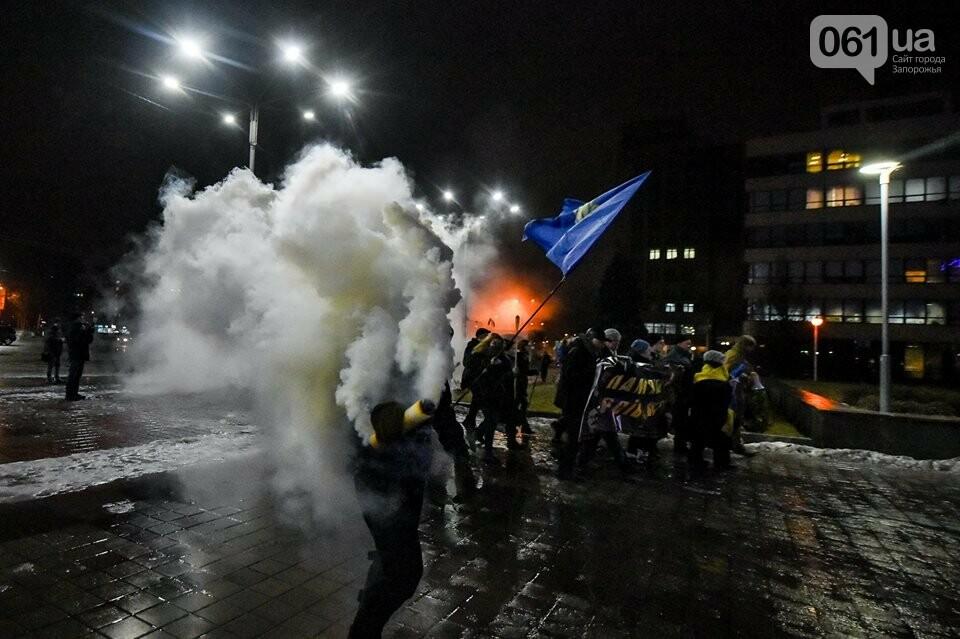 """""""Крути, вас не забути"""": в центре Запорожья прошло факельное шествие, - ФОТОРЕПОРТАЖ, фото-25"""