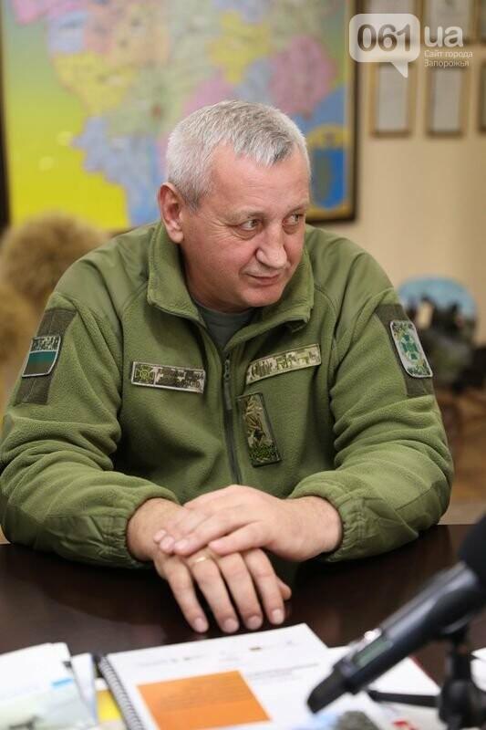 В Запорожье представили главу Азово-Черноморского управления погранслужбы, фото-1
