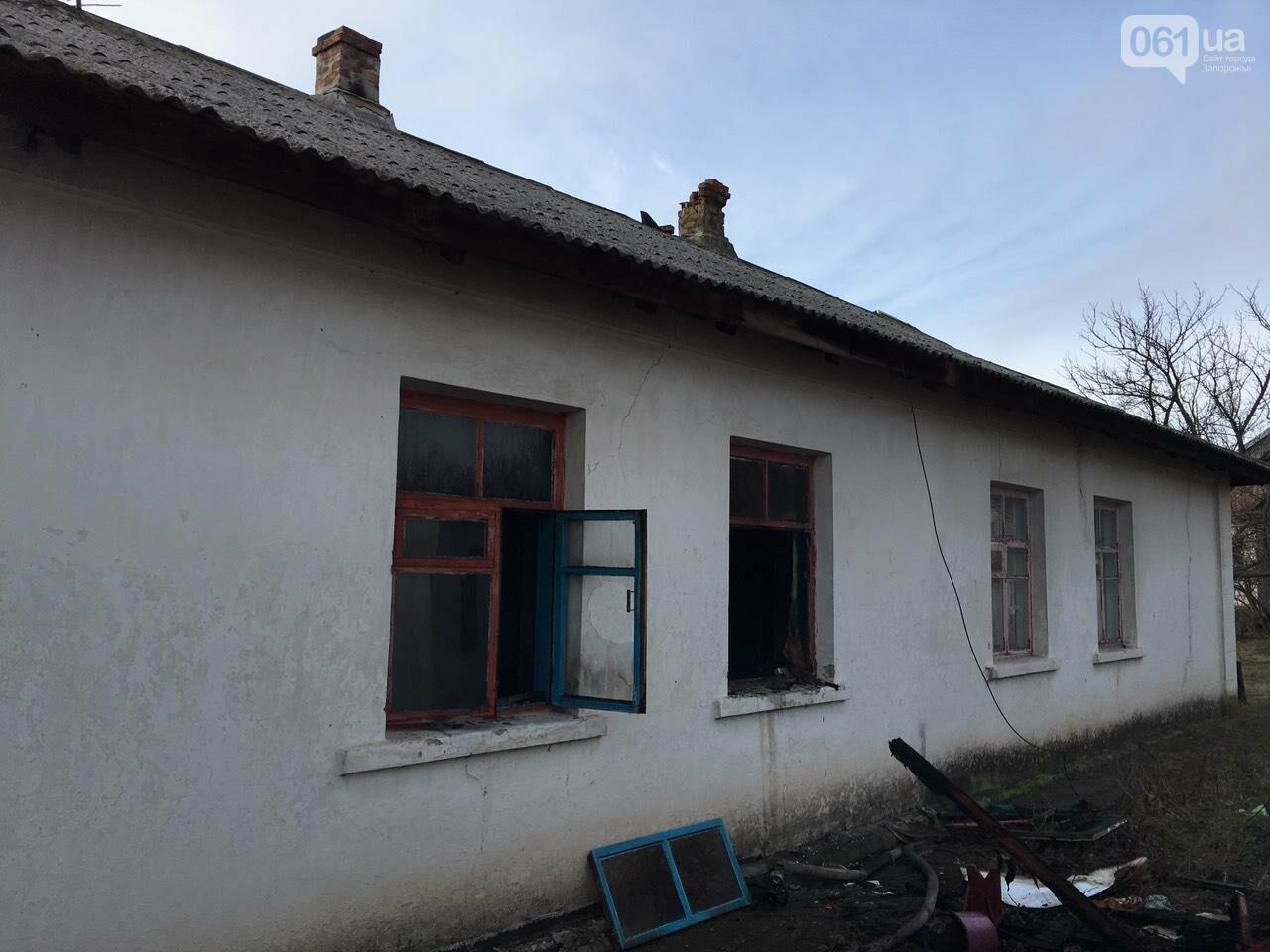 Под Запорожьем на пожаре погиб хозяин дома, - ФОТО, фото-1