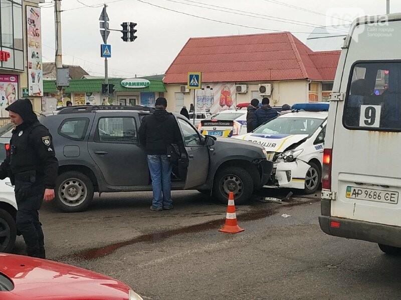 В Запорожье произошло ДТП с полицейским «Приусом», – ФОТО, фото-1