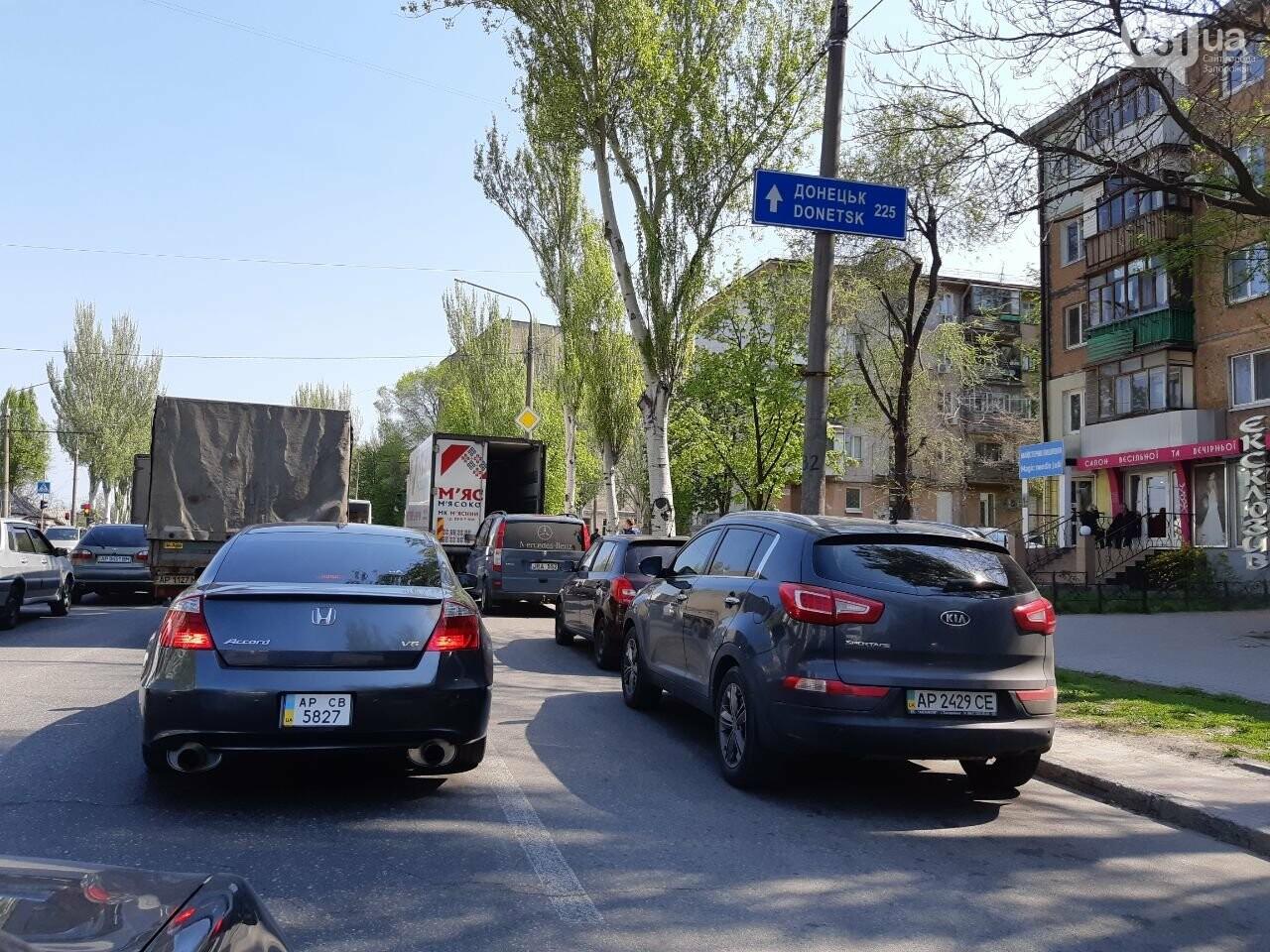 В Запорожье на Украинской из-за ДТП образовалась пробка, - ФОТО, фото-3