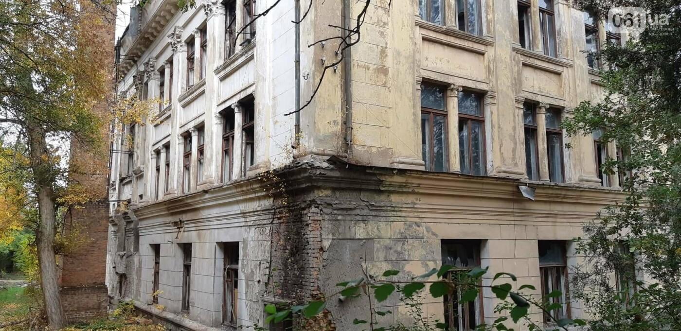 На Хортице вандалы оставили без крыши здание заброшенного ЦИМЕЖА, - ФОТОРЕПОРТАЖ, фото-2