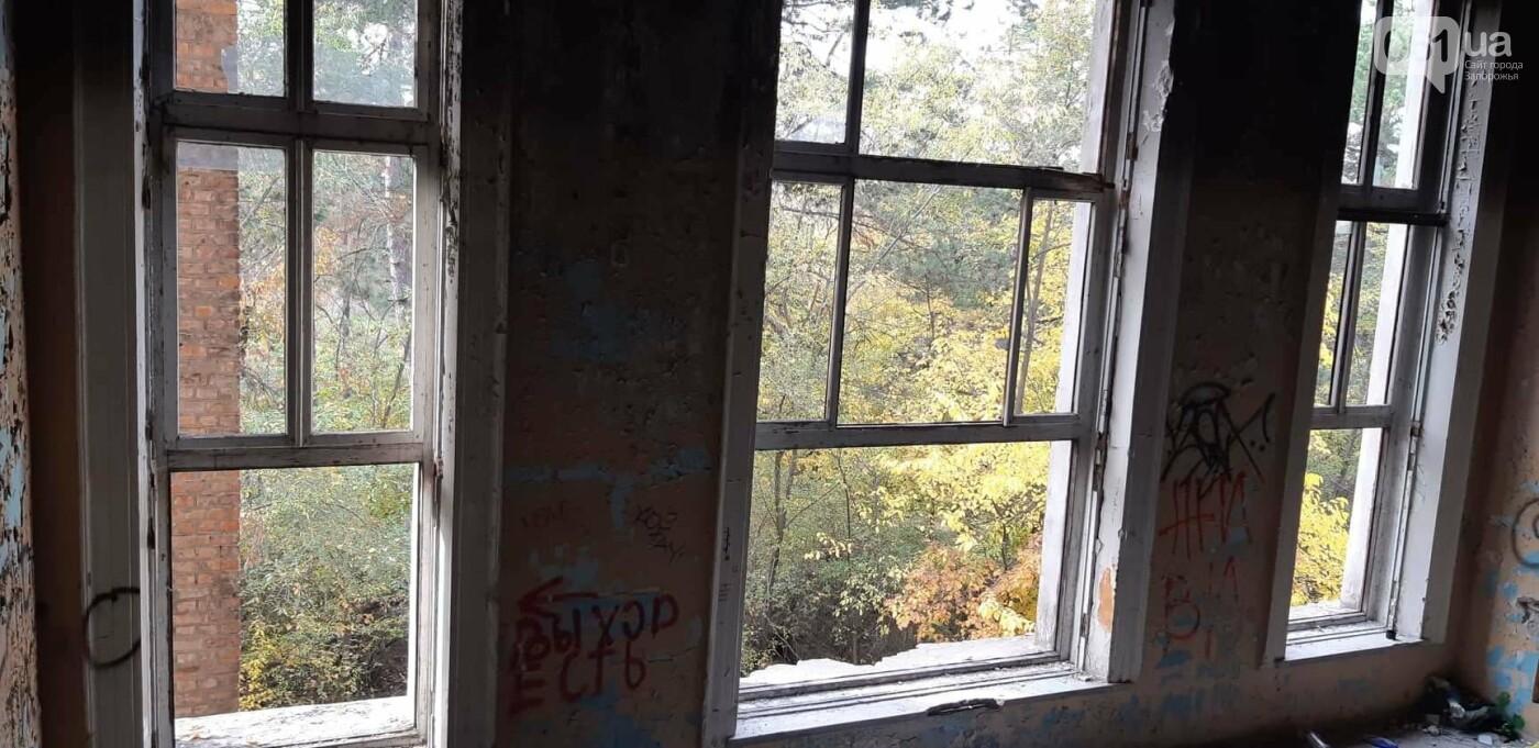 На Хортице вандалы оставили без крыши здание заброшенного ЦИМЕЖА, - ФОТОРЕПОРТАЖ, фото-9