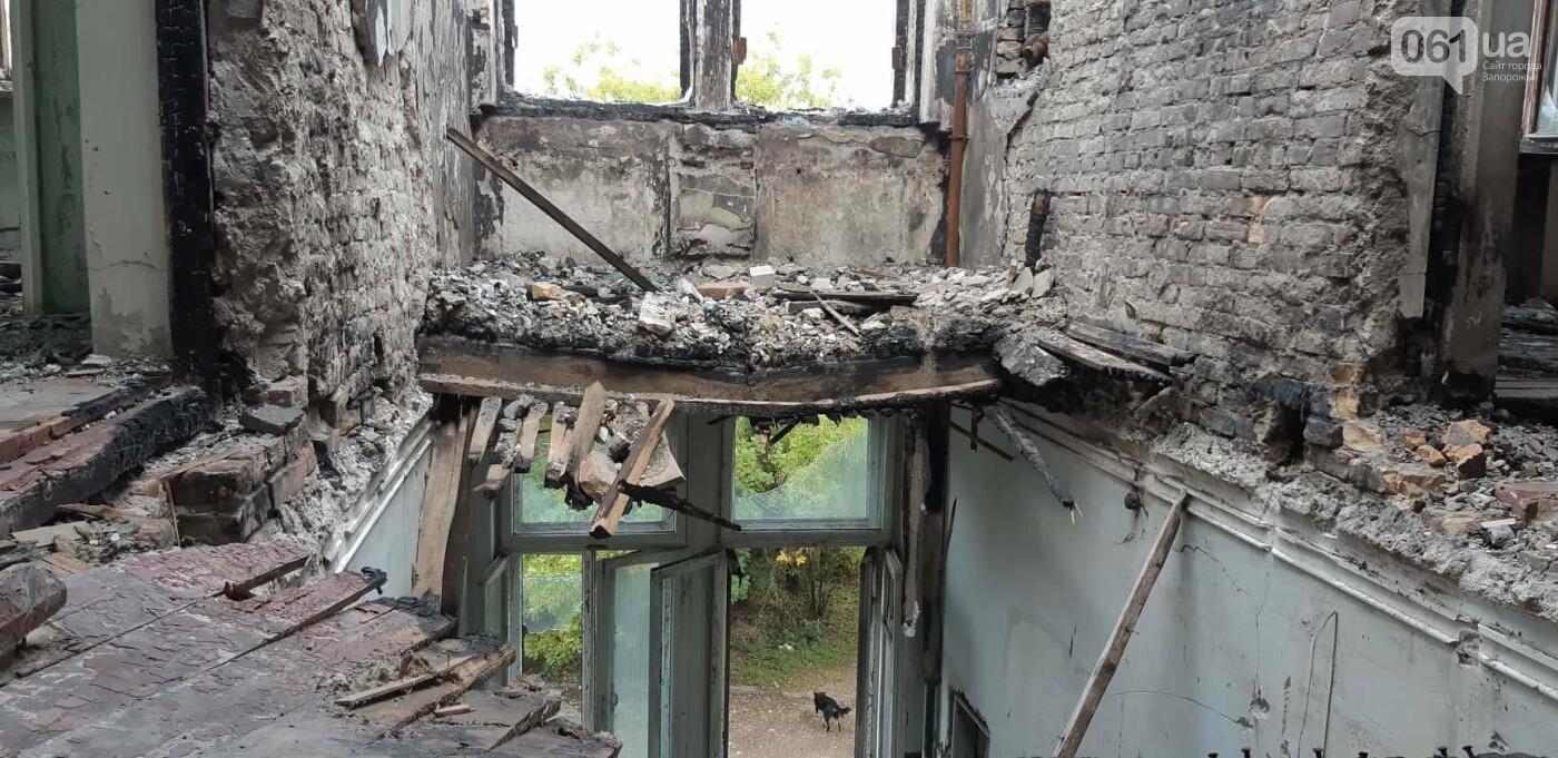 На Хортице вандалы оставили без крыши здание заброшенного ЦИМЕЖА, - ФОТОРЕПОРТАЖ, фото-5