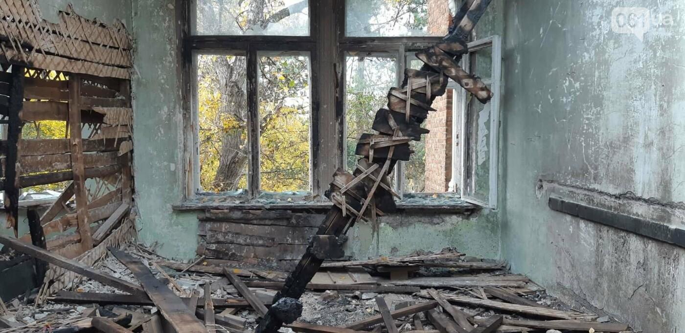 На Хортице вандалы оставили без крыши здание заброшенного ЦИМЕЖА, - ФОТОРЕПОРТАЖ, фото-13