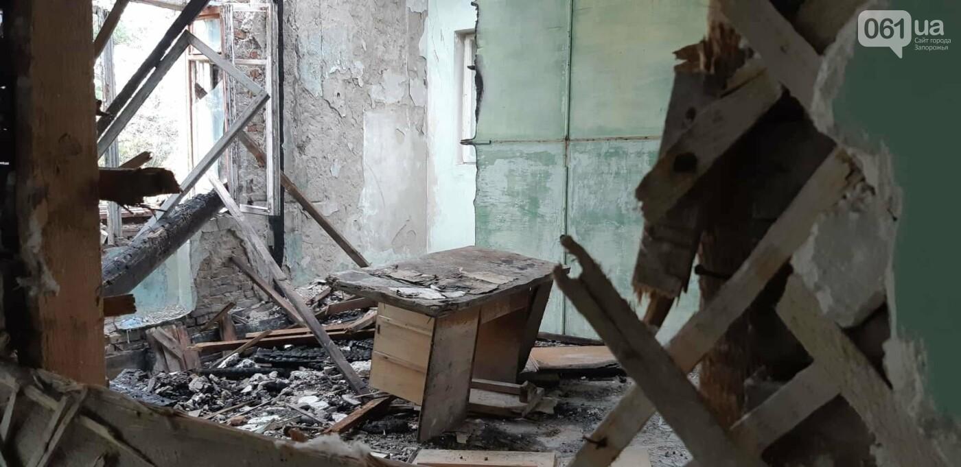 На Хортице вандалы оставили без крыши здание заброшенного ЦИМЕЖА, - ФОТОРЕПОРТАЖ, фото-12