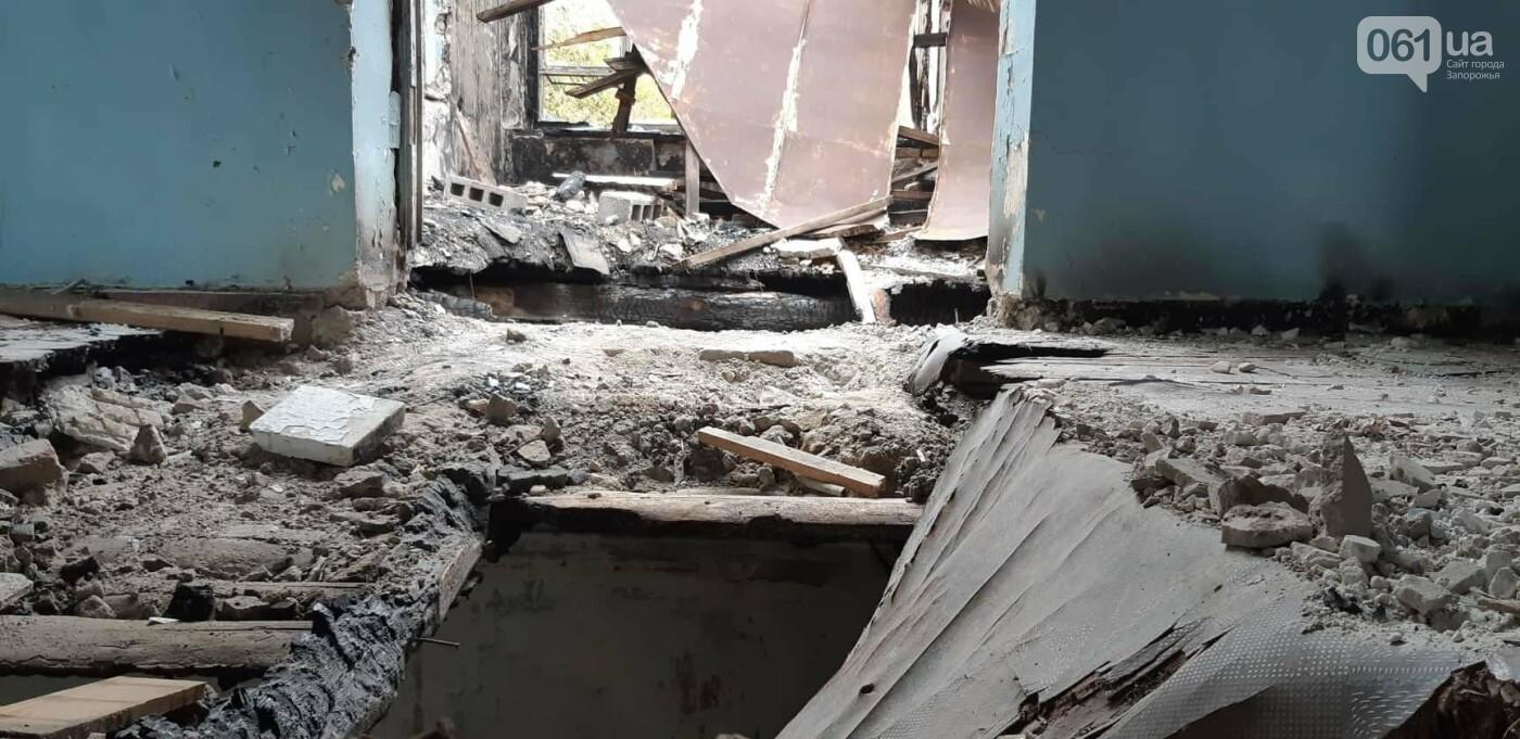 На Хортице вандалы оставили без крыши здание заброшенного ЦИМЕЖА, - ФОТОРЕПОРТАЖ, фото-10