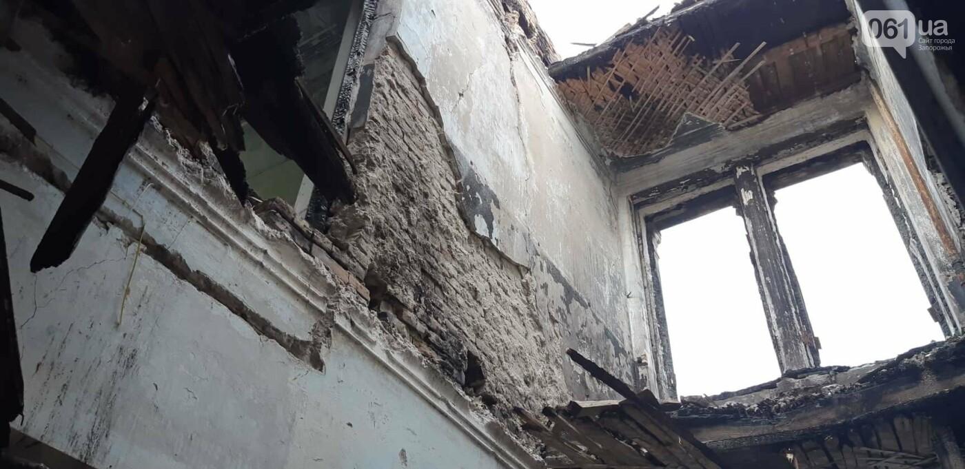 На Хортице вандалы оставили без крыши здание заброшенного ЦИМЕЖА, - ФОТОРЕПОРТАЖ, фото-8