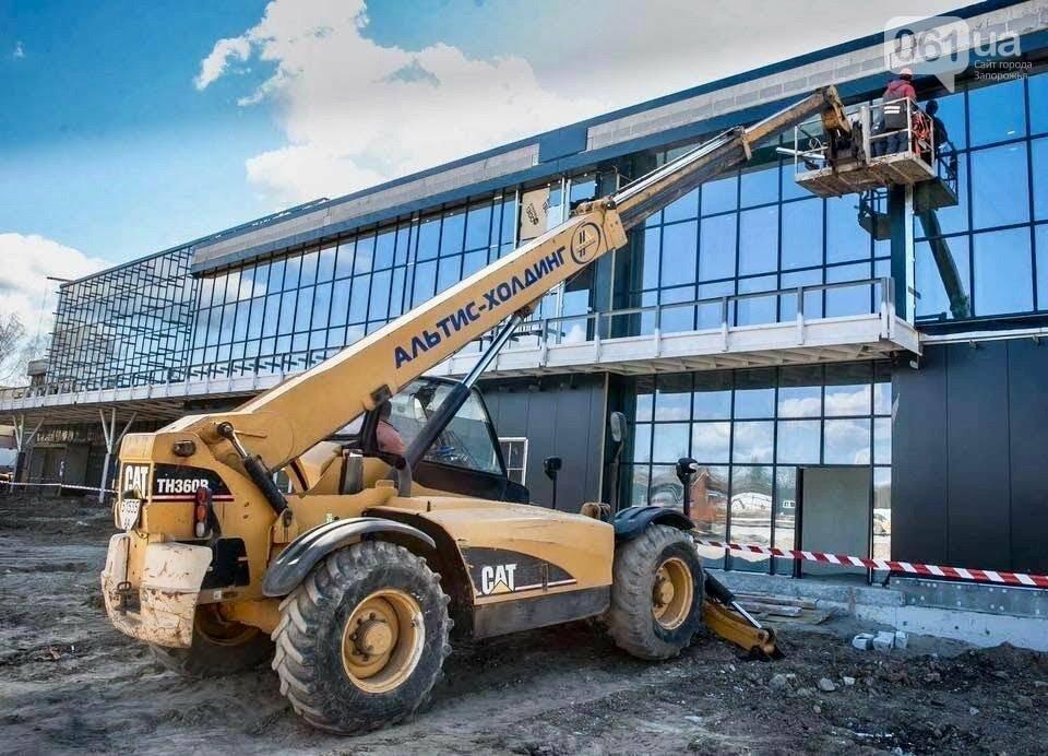 В новом терминале запорожского аэропорта начали отделочные работы, - ФОТО, фото-3