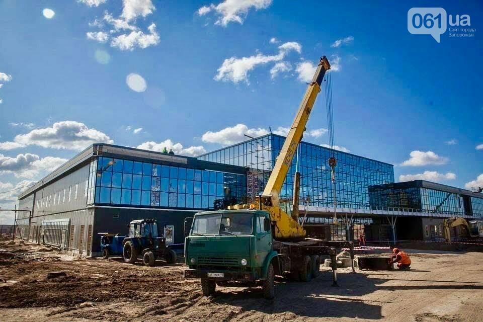 В новом терминале запорожского аэропорта начали отделочные работы, - ФОТО, фото-4