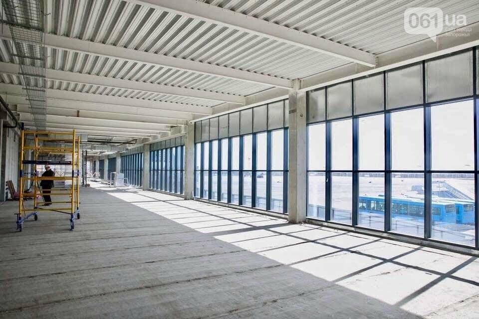 В новом терминале запорожского аэропорта начали отделочные работы, - ФОТО, фото-2