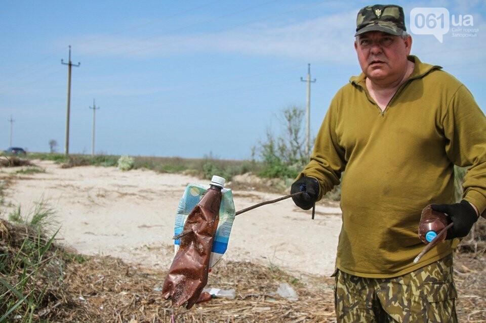 В Кирилловке провели масштабный субботник – вывезли 10 тонн мусора, - ФОТОРЕПОРТАЖ, фото-6