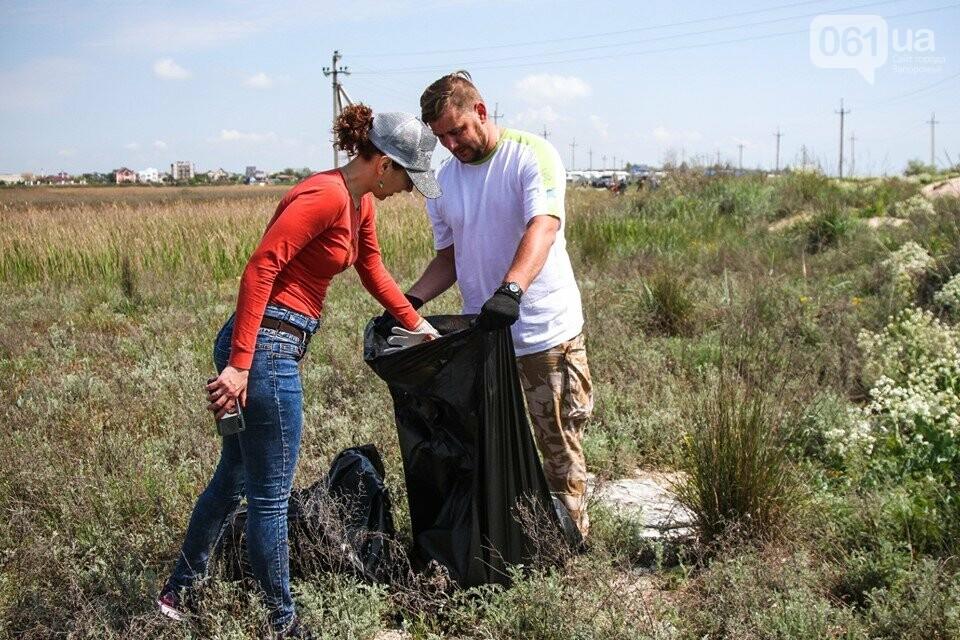 В Кирилловке провели масштабный субботник – вывезли 10 тонн мусора, - ФОТОРЕПОРТАЖ, фото-7