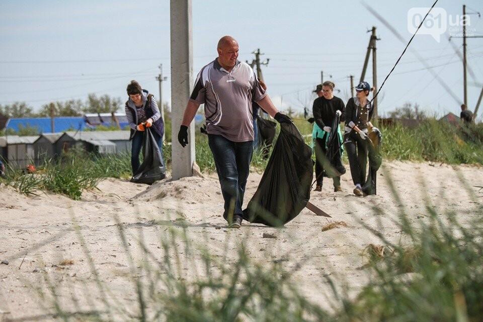 В Кирилловке провели масштабный субботник – вывезли 10 тонн мусора, - ФОТОРЕПОРТАЖ, фото-11