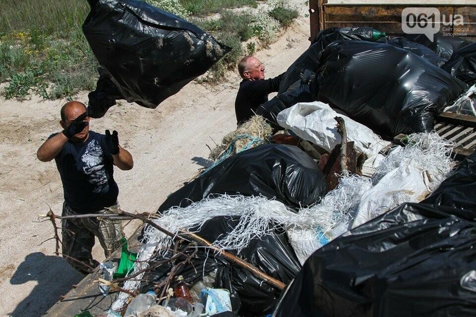 В Кирилловке провели масштабный субботник – вывезли 10 тонн мусора, - ФОТОРЕПОРТАЖ, фото-12