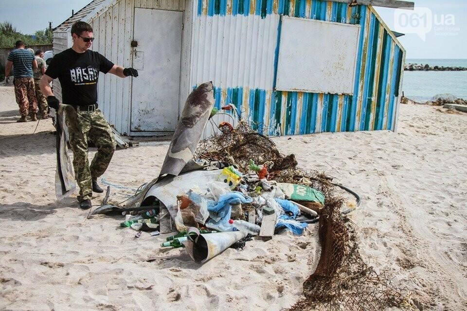 В Кирилловке провели масштабный субботник – вывезли 10 тонн мусора, - ФОТОРЕПОРТАЖ, фото-14