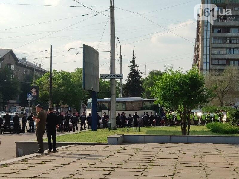 В Запорожье акцию ЛГБТ-сообщества охраняют почти полтысячи силовиков, - ФОТО, ВИДЕО, фото-5