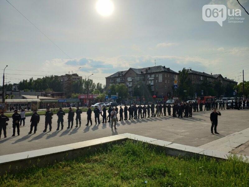 В Запорожье акцию ЛГБТ-сообщества охраняют почти полтысячи силовиков, - ФОТО, ВИДЕО, фото-4