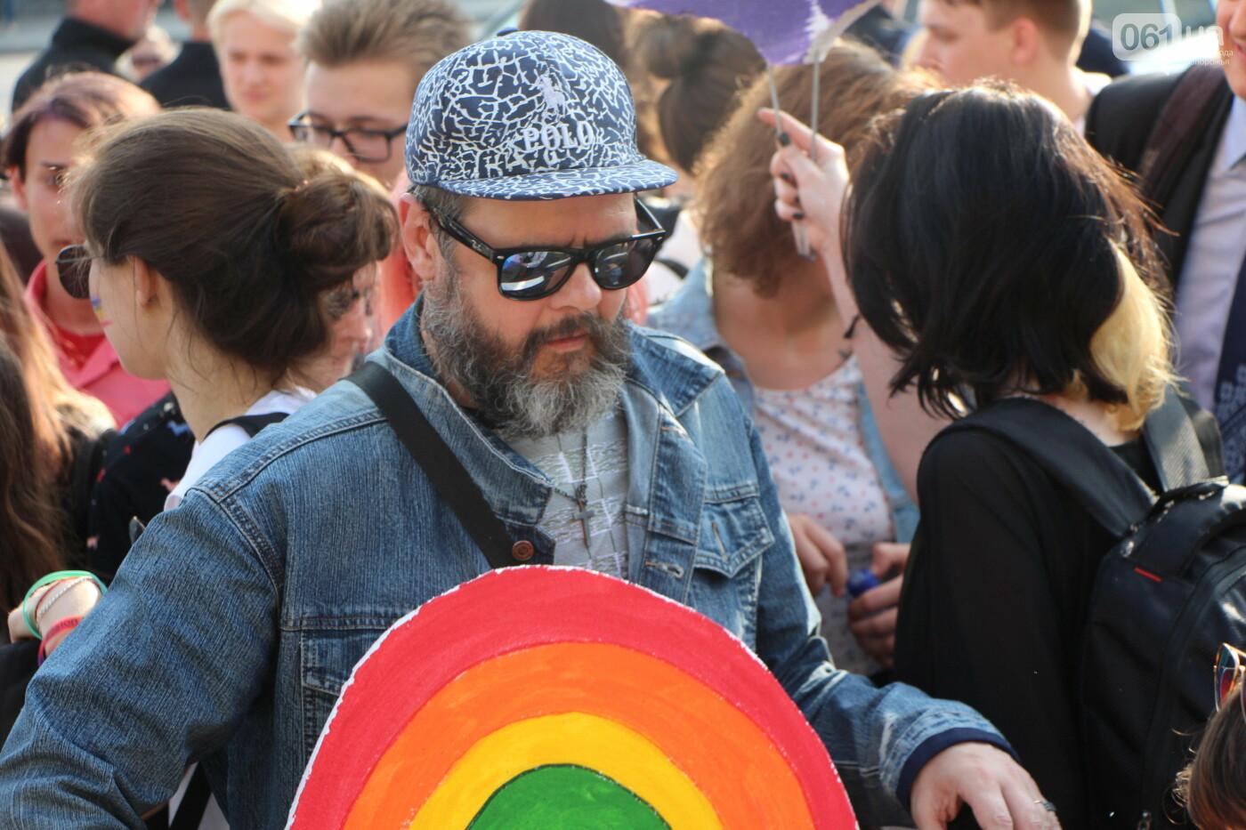 """""""Радужный флешмоб"""" переехал из-за угрозы насилия: как прошла ЛГБТ-акция в Запорожье, - ФОТОРЕПОРТАЖ, фото-6"""
