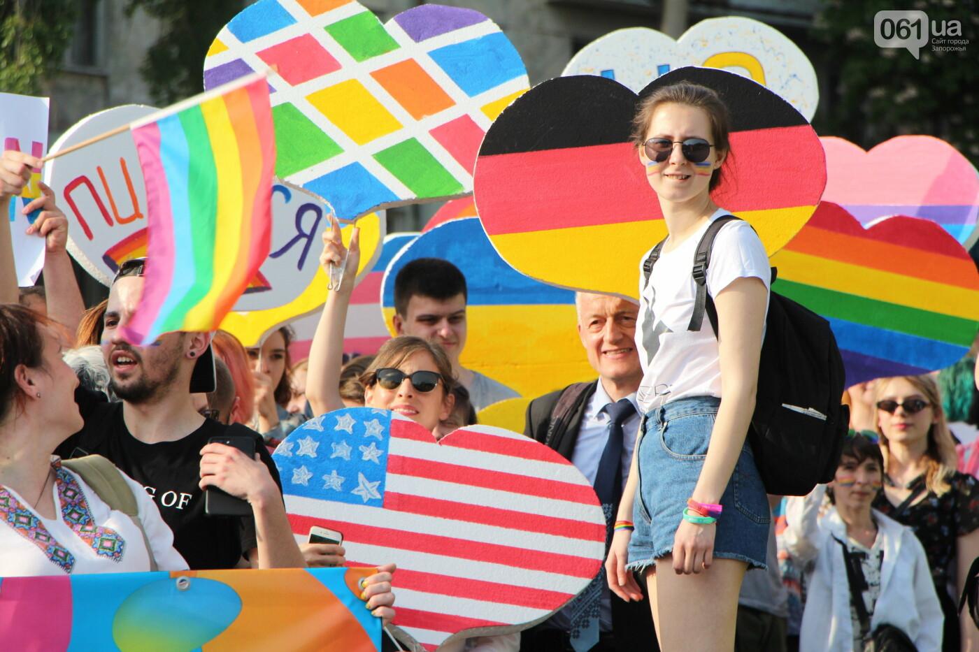 """""""Радужный флешмоб"""" переехал из-за угрозы насилия: как прошла ЛГБТ-акция в Запорожье, - ФОТОРЕПОРТАЖ, фото-10"""