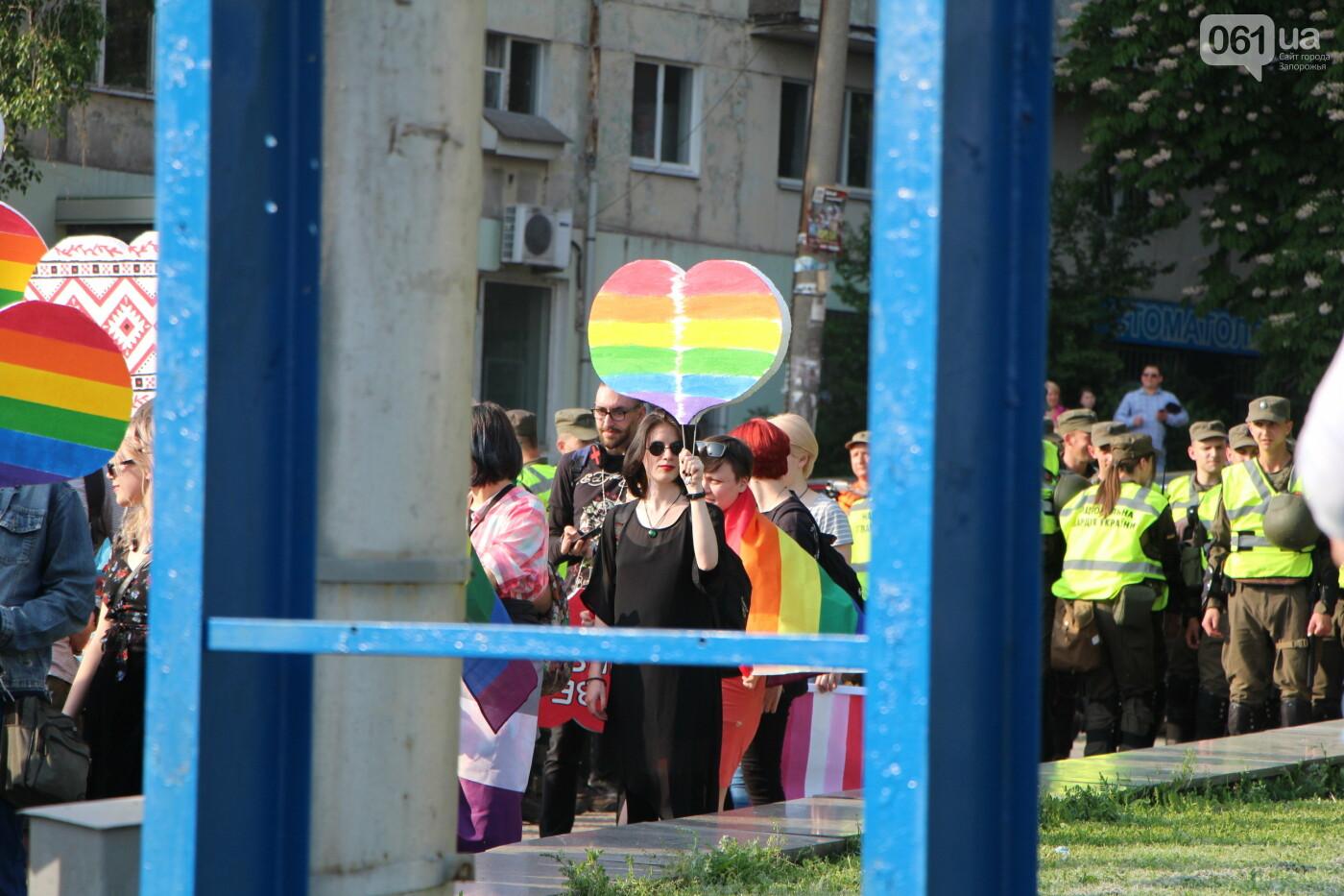 """""""Радужный флешмоб"""" переехал из-за угрозы насилия: как прошла ЛГБТ-акция в Запорожье, - ФОТОРЕПОРТАЖ, фото-12"""