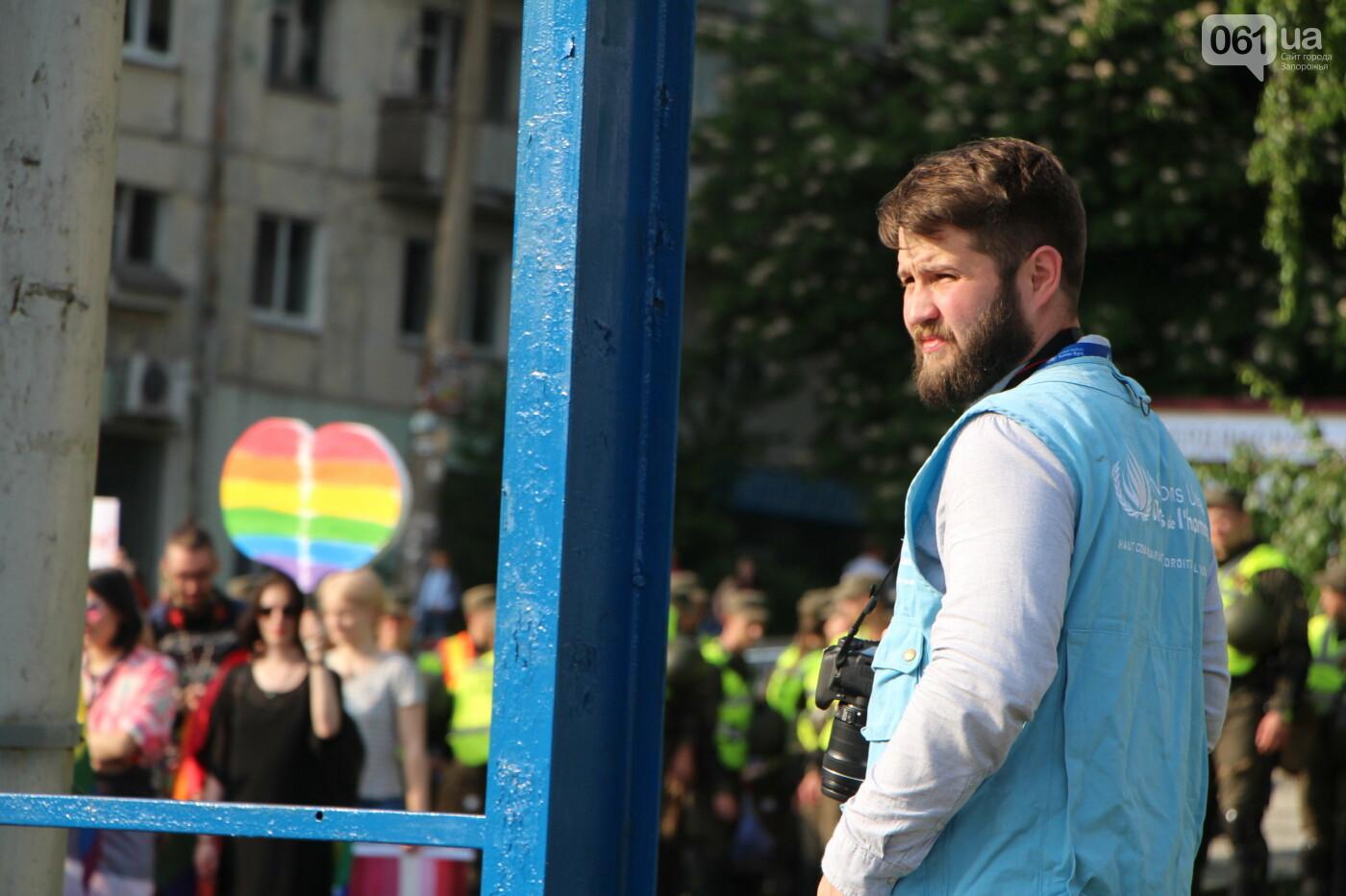 """""""Радужный флешмоб"""" переехал из-за угрозы насилия: как прошла ЛГБТ-акция в Запорожье, - ФОТОРЕПОРТАЖ, фото-13"""