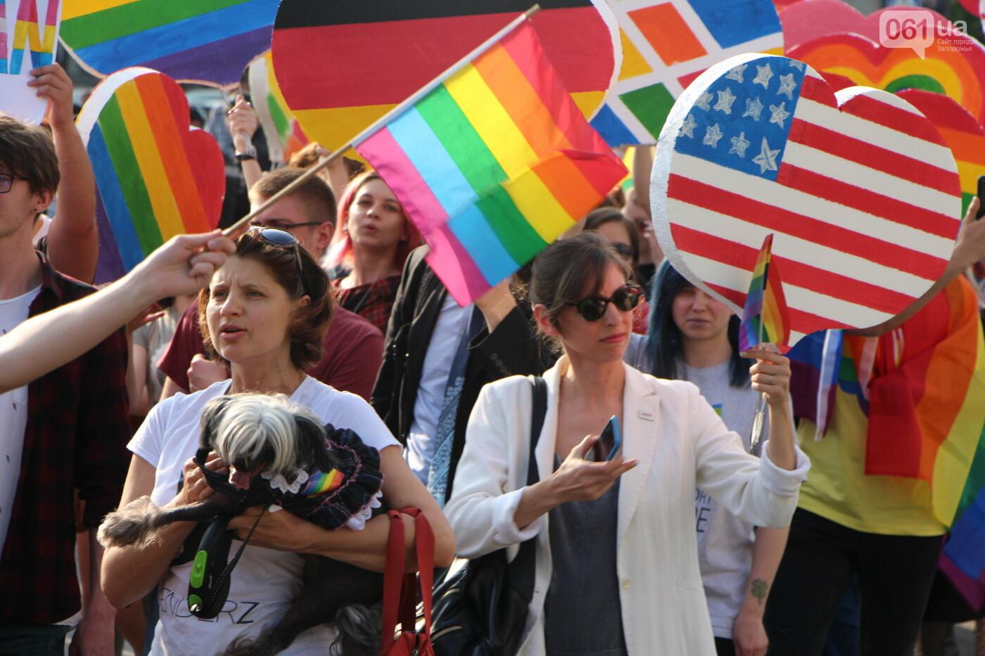 """""""Радужный флешмоб"""" переехал из-за угрозы насилия: как прошла ЛГБТ-акция в Запорожье, - ФОТОРЕПОРТАЖ, фото-18"""
