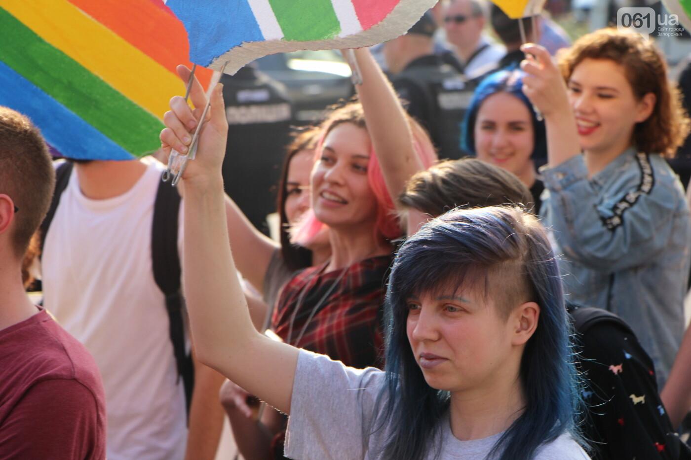 """""""Радужный флешмоб"""" переехал из-за угрозы насилия: как прошла ЛГБТ-акция в Запорожье, - ФОТОРЕПОРТАЖ, фото-20"""