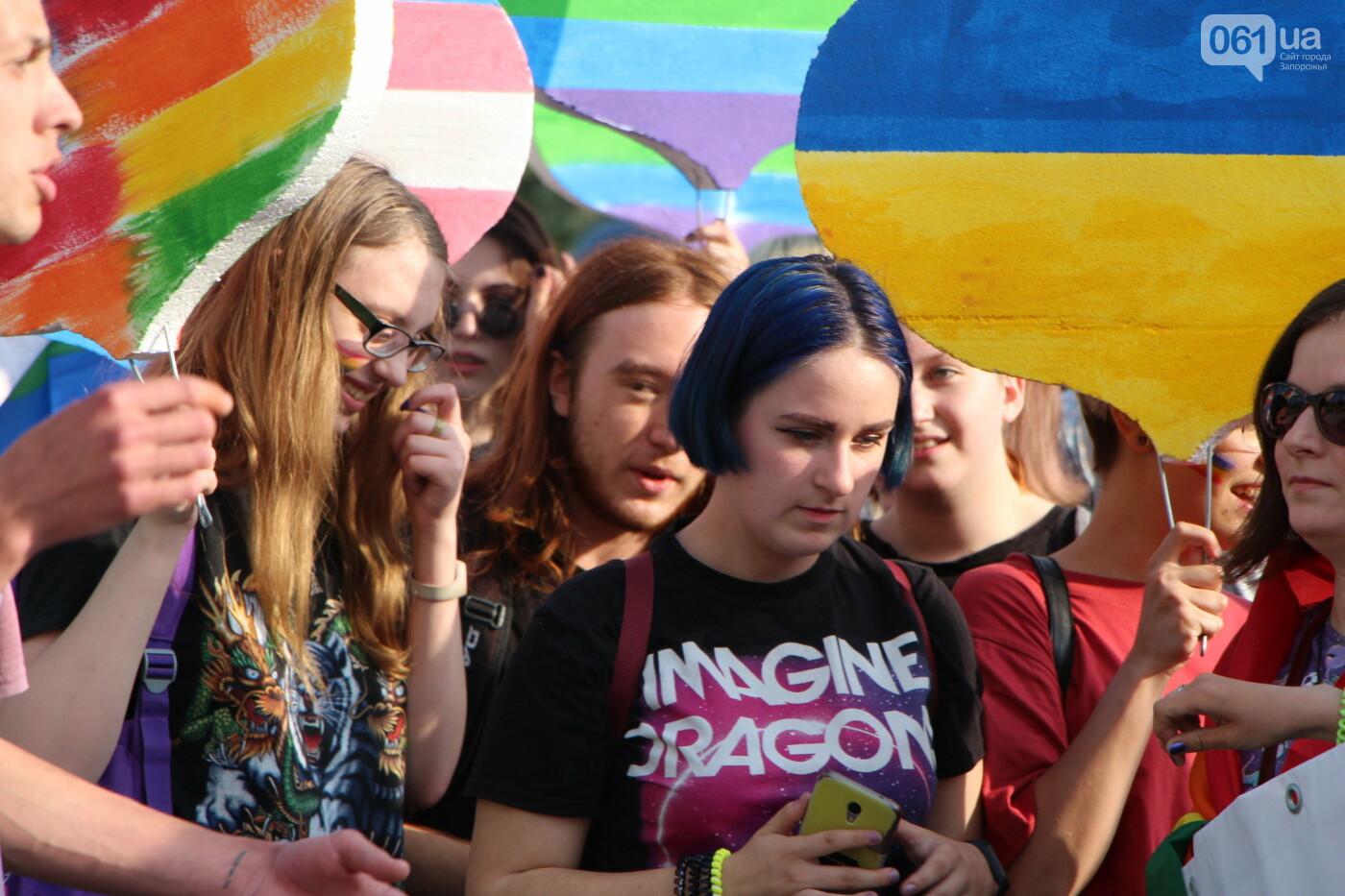 """""""Радужный флешмоб"""" переехал из-за угрозы насилия: как прошла ЛГБТ-акция в Запорожье, - ФОТОРЕПОРТАЖ, фото-26"""
