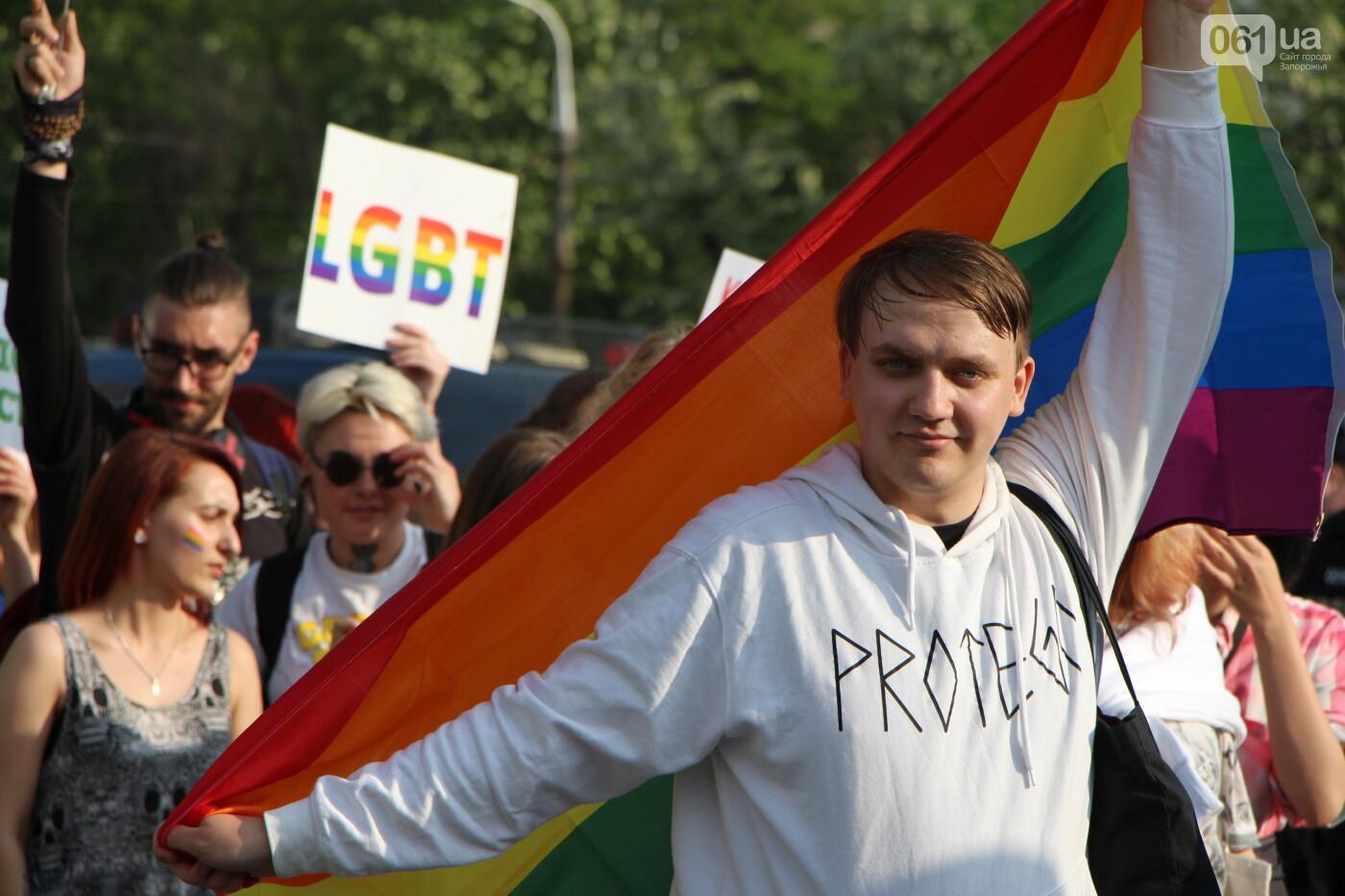 """""""Радужный флешмоб"""" переехал из-за угрозы насилия: как прошла ЛГБТ-акция в Запорожье, - ФОТОРЕПОРТАЖ, фото-29"""