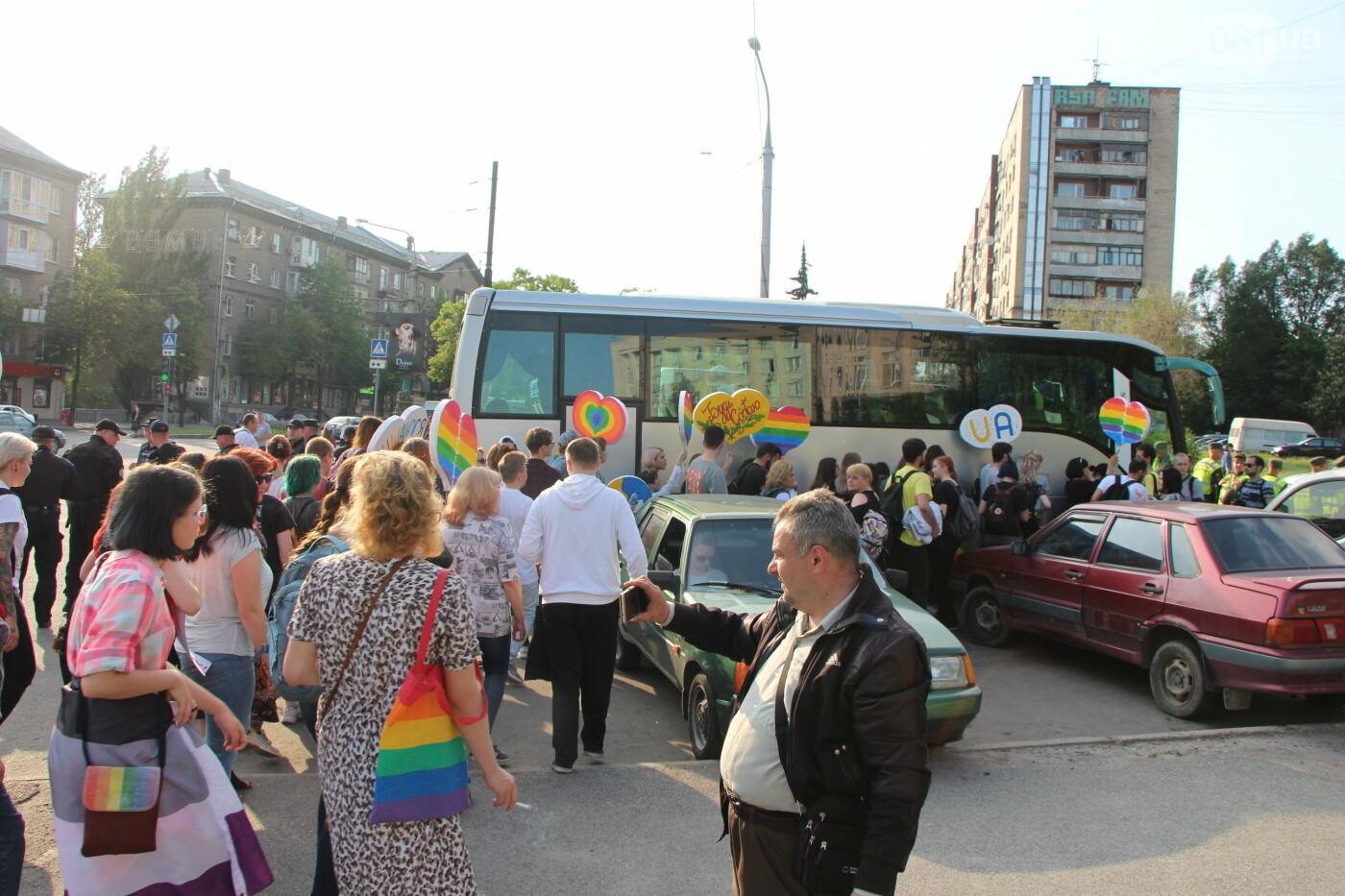 """""""Радужный флешмоб"""" переехал из-за угрозы насилия: как прошла ЛГБТ-акция в Запорожье, - ФОТОРЕПОРТАЖ, фото-44"""