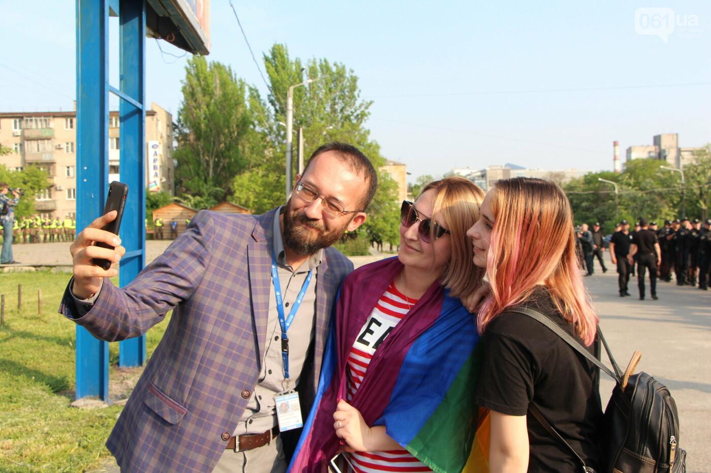 """""""Радужный флешмоб"""" переехал из-за угрозы насилия: как прошла ЛГБТ-акция в Запорожье, - ФОТОРЕПОРТАЖ, фото-45"""
