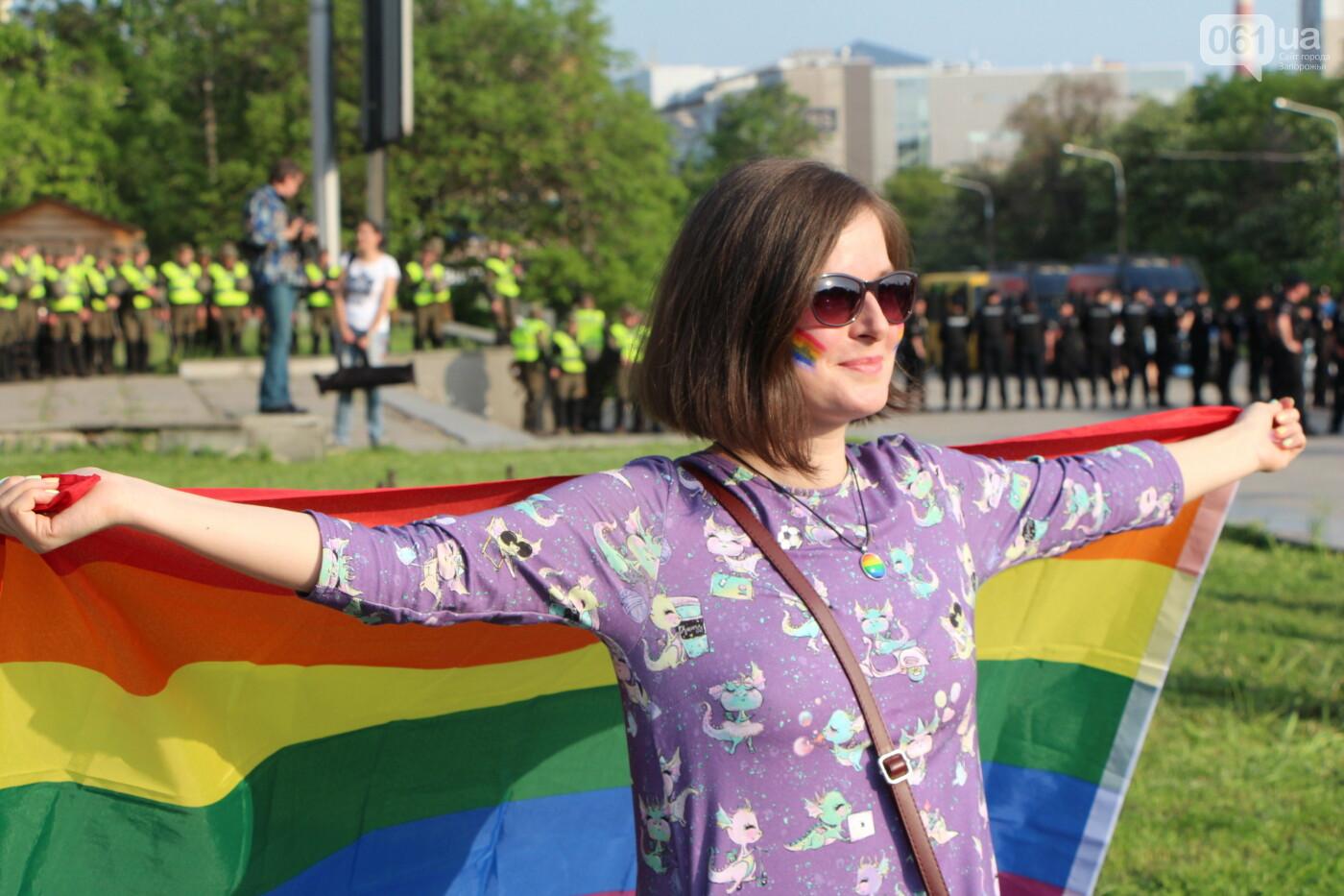 """""""Радужный флешмоб"""" переехал из-за угрозы насилия: как прошла ЛГБТ-акция в Запорожье, - ФОТОРЕПОРТАЖ, фото-49"""