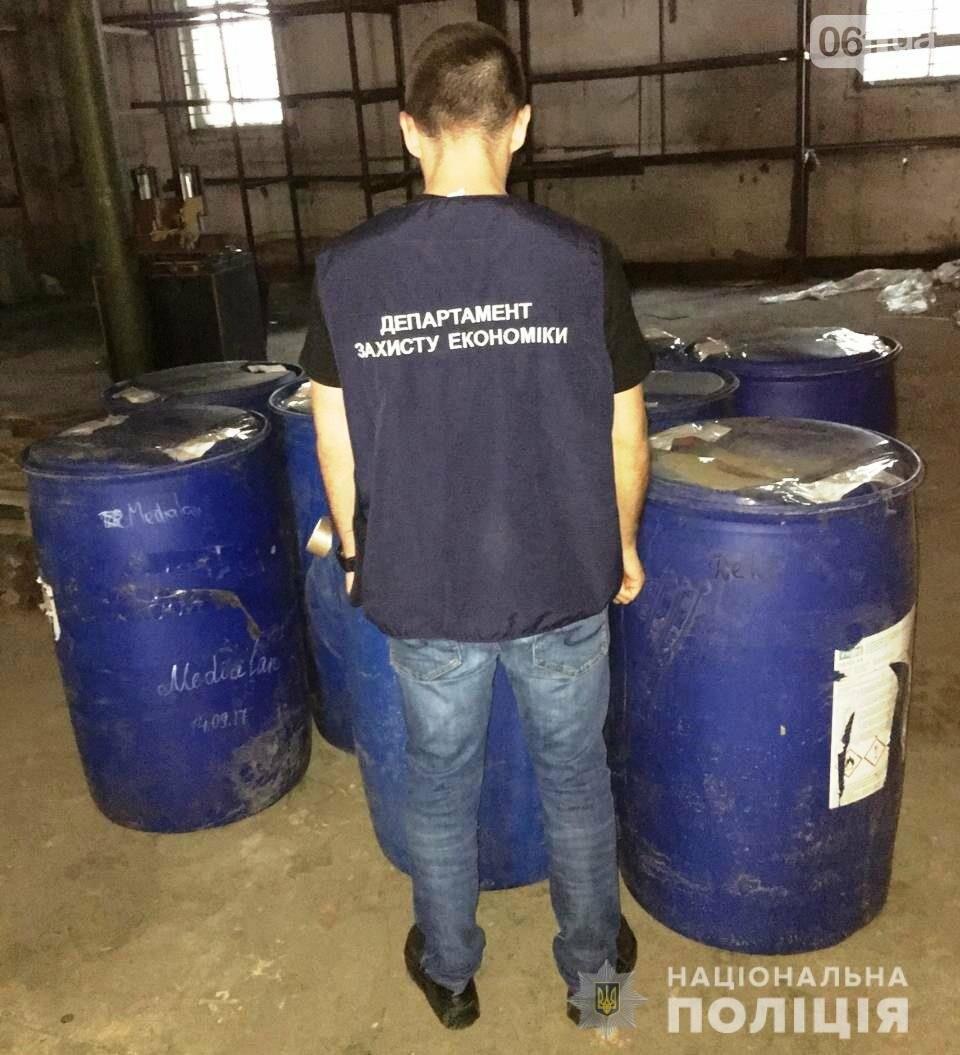 Под Запорожьем полиция изъяла 2 тысячи литров спирта, - ФОТО, фото-1