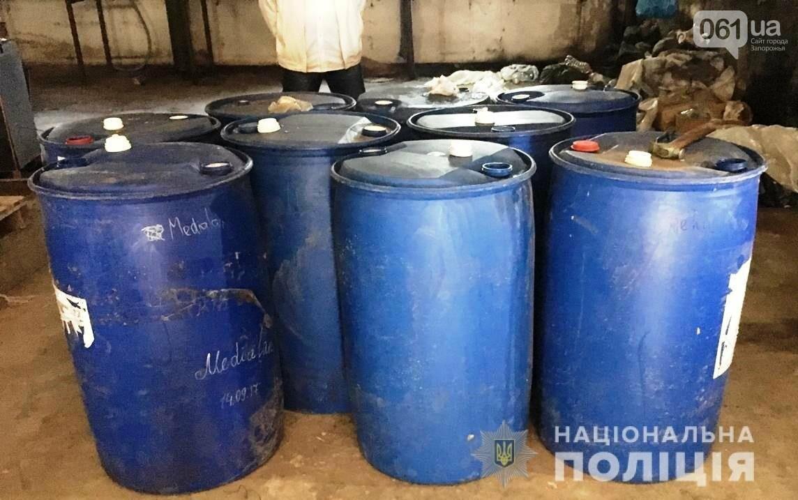 Под Запорожьем полиция изъяла 2 тысячи литров спирта, - ФОТО, фото-2