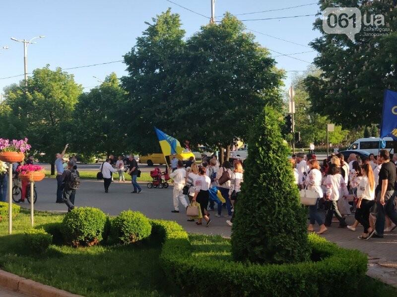 В Запорожье начался Марш вышиванок: на акцию вышли сотни горожан, – ФОТО, фото-4