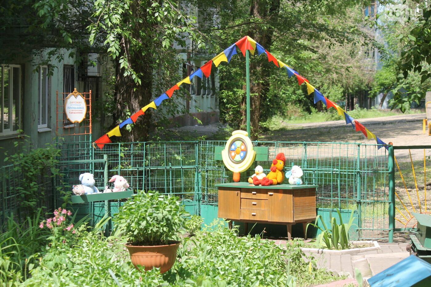 Сказочный городок дедушки Евгения: как запорожский пенсионер превратил заброшенный палисадник в зону для детей, – ФОТОРЕПОРТАЖ, фото-5