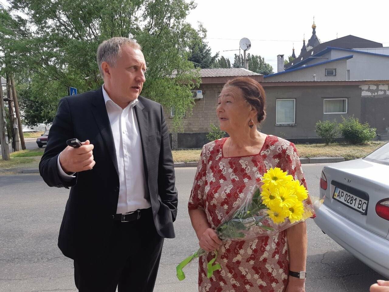 В Запорожье приехала внучка основателя первого александровского родильного дома, - ФОТО, фото-4