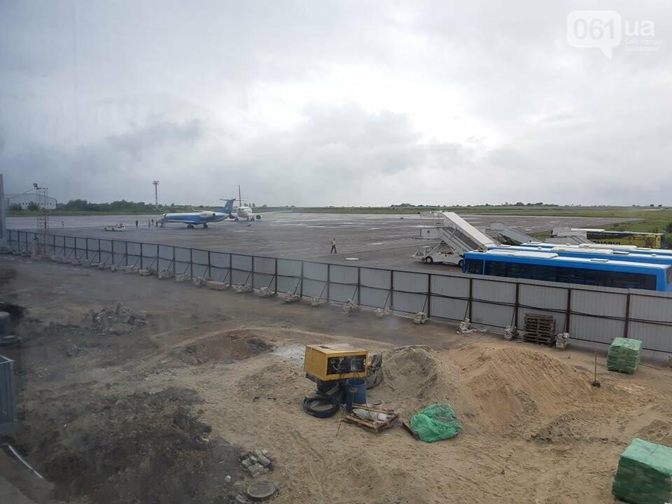 Строительство терминала запорожского аэропорта подорожало на четверть миллиарда: что сейчас проиходит на объекте, - ФОТОРЕПОРТАЖ, фото-8