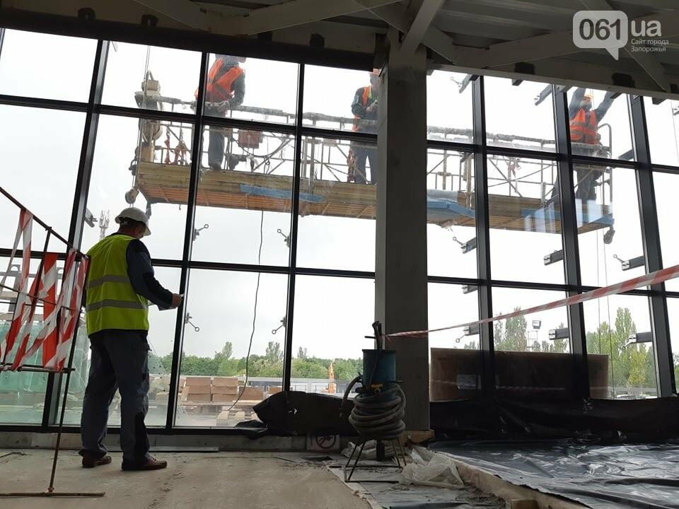 Строительство терминала запорожского аэропорта подорожало на четверть миллиарда: что сейчас проиходит на объекте, - ФОТОРЕПОРТАЖ, фото-13