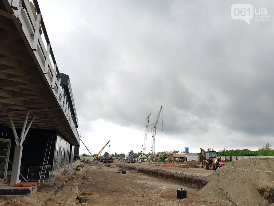 Строительство терминала запорожского аэропорта подорожало на четверть миллиарда: что сейчас проиходит на объекте, - ФОТОРЕПОРТАЖ, фото-6