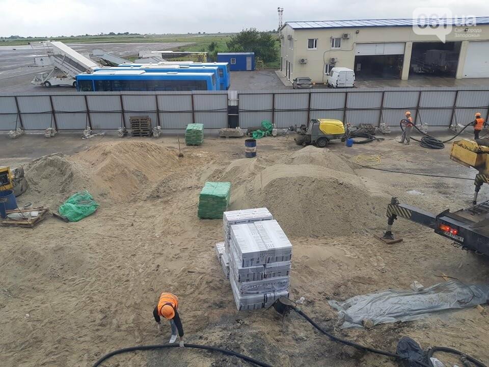 Строительство терминала запорожского аэропорта подорожало на четверть миллиарда: что сейчас проиходит на объекте, - ФОТОРЕПОРТАЖ, фото-7
