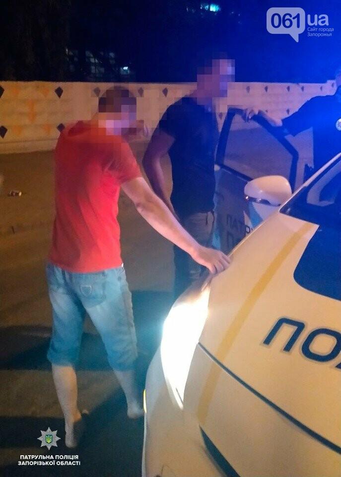 В Запорожье избили патрульного, который оформлял ДТП, фото-1