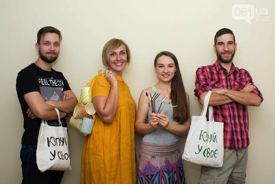 «Купуй у своє»: как эко-активисты приучают запорожцев к ответственному потреблению, фото-12